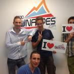 Geo, Paul, Raph & Antoine - I LOVE FUNALPES RADIO !